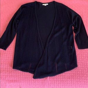 New York & Company Small Navy Blue Cardigan